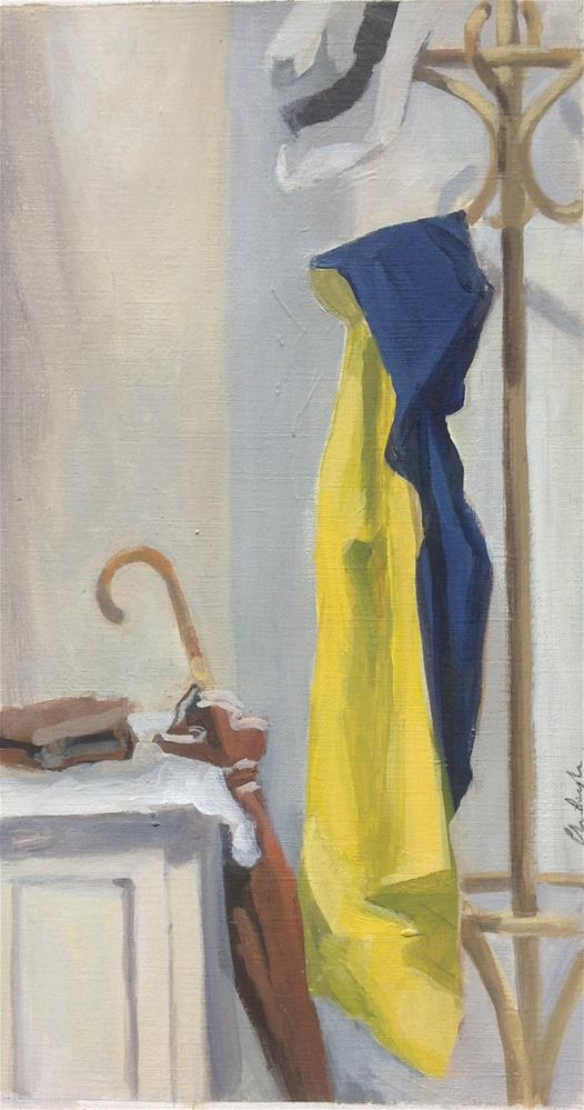 """Rainy day"" original fine art by Christine Bayle"