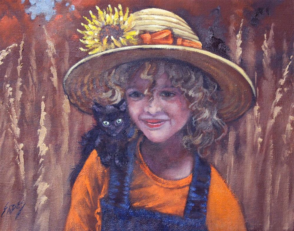 """Buddies"" original fine art by Linda Eades Blackburn"