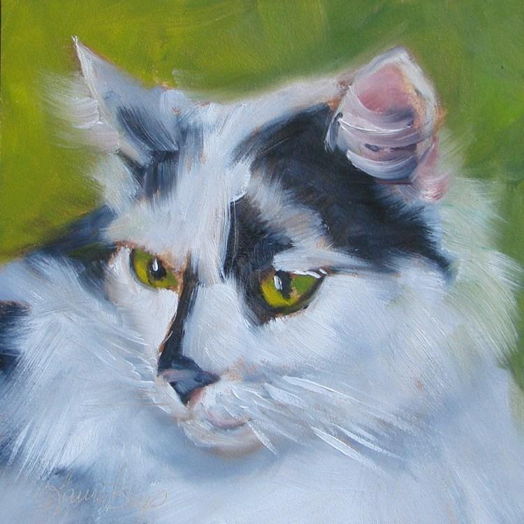 """Sugar - 364"" original fine art by Laura  Buxo"