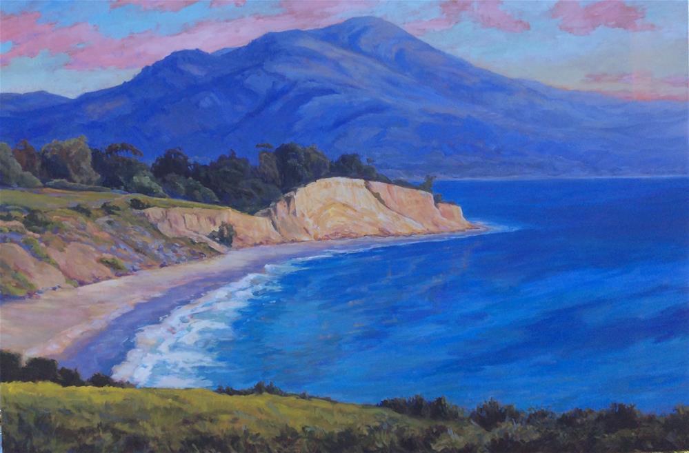 """""""Summerland"""" original fine art by Leigh Alexandra Sparks"""