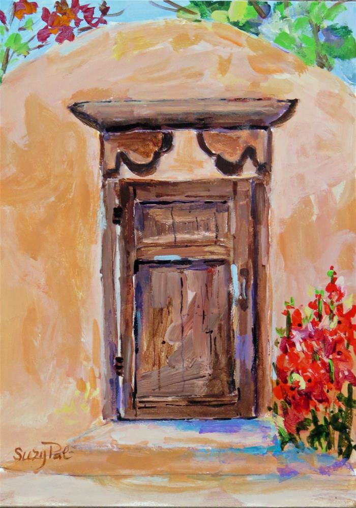 """Santa Fe #9"" original fine art by Suzy 'Pal' Powell"
