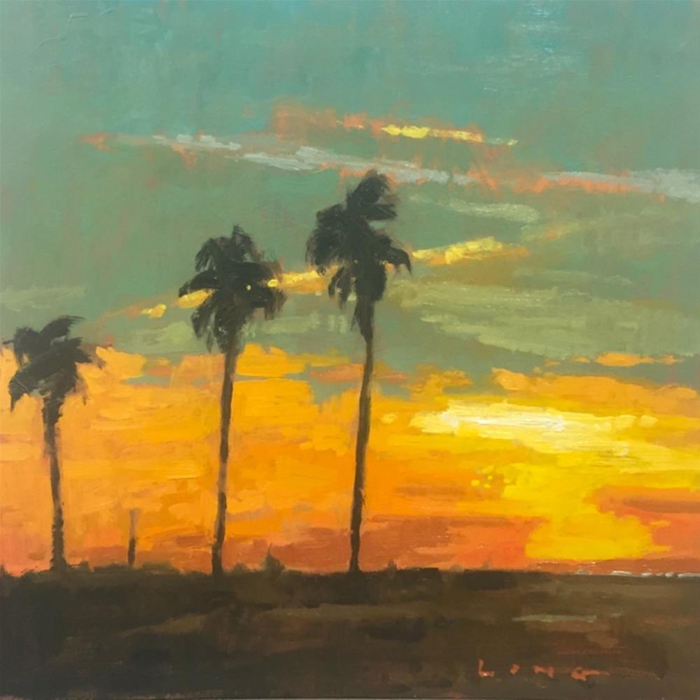"""""""Quartzsite, Arizona"""" original fine art by Chris Long"""