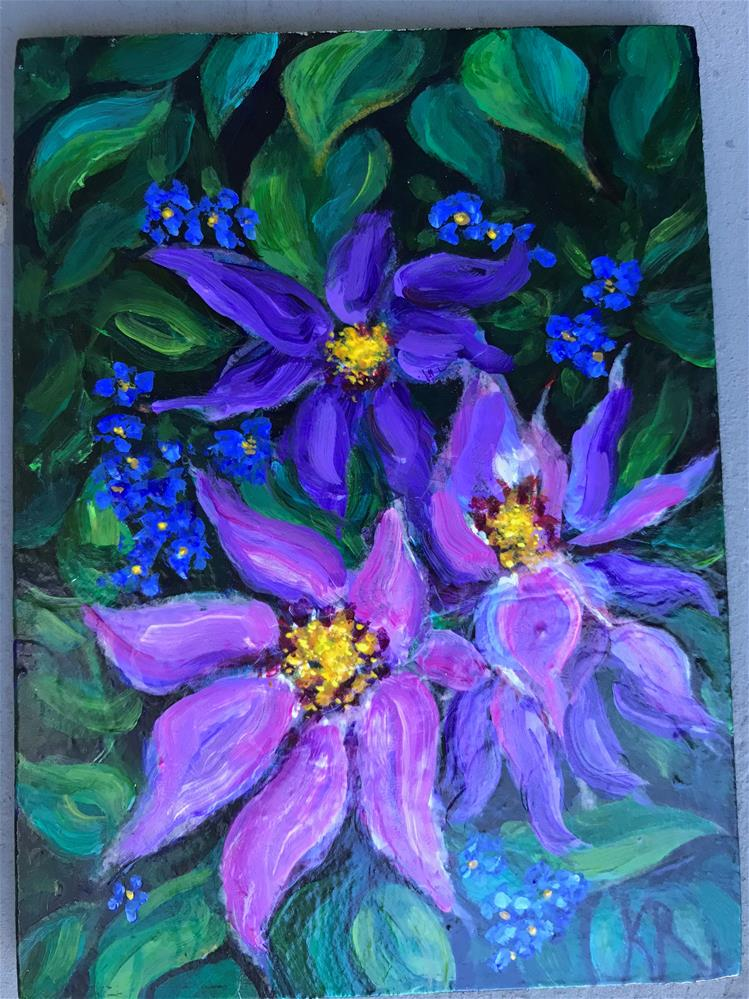 """Melody"" original fine art by Karen Roncari"
