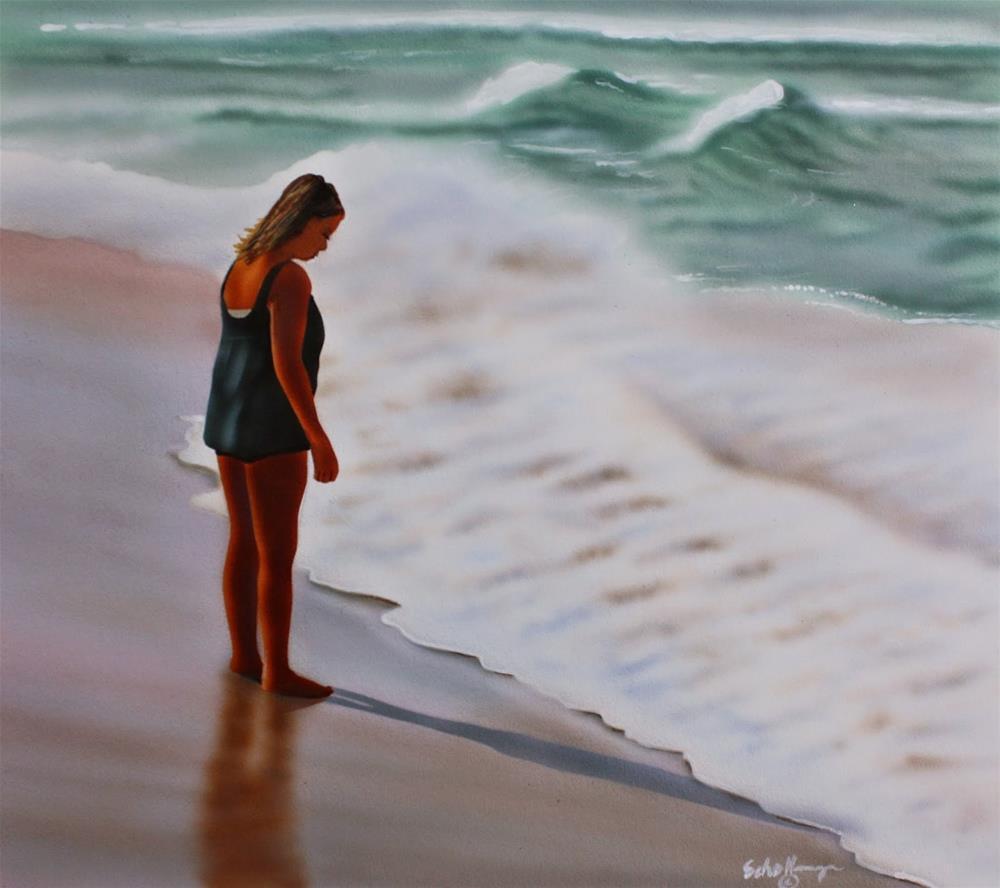"""How Deep Is the Ocean"" original fine art by Fred Schollmeyer"