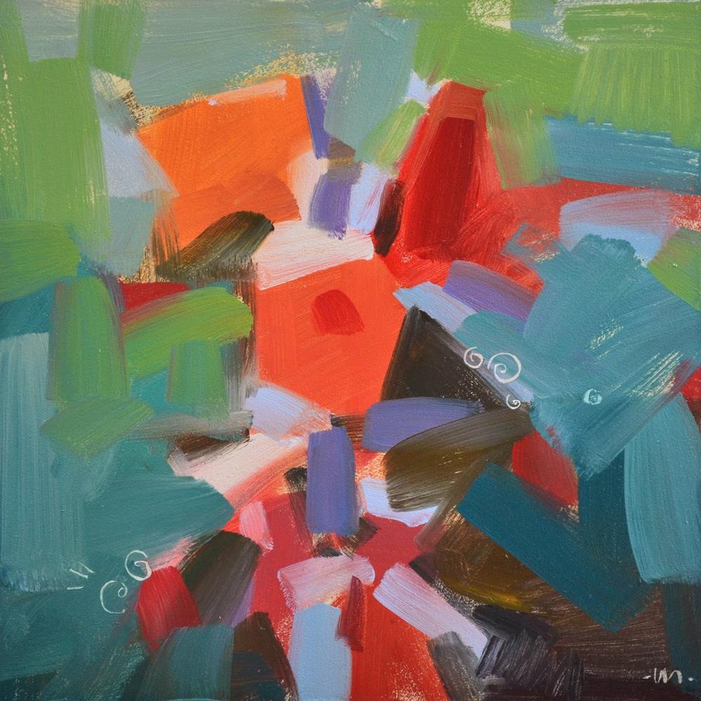 """Bouquet"" original fine art by Carol Marine"