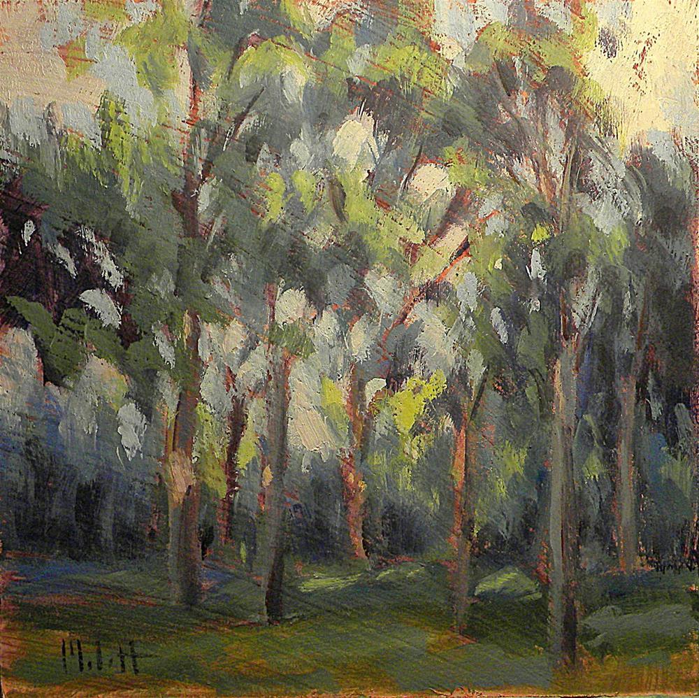 """Morning Light Landscape Oil Painting"" original fine art by Heidi Malott"