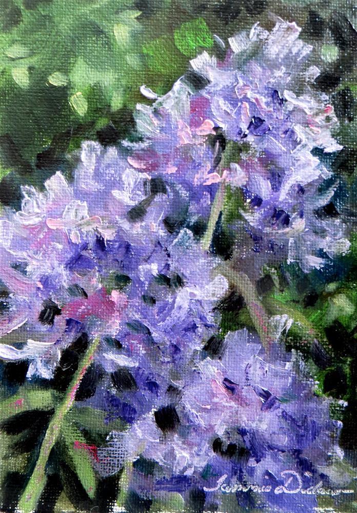"""Evening Phlox"" original fine art by Tammie Dickerson"