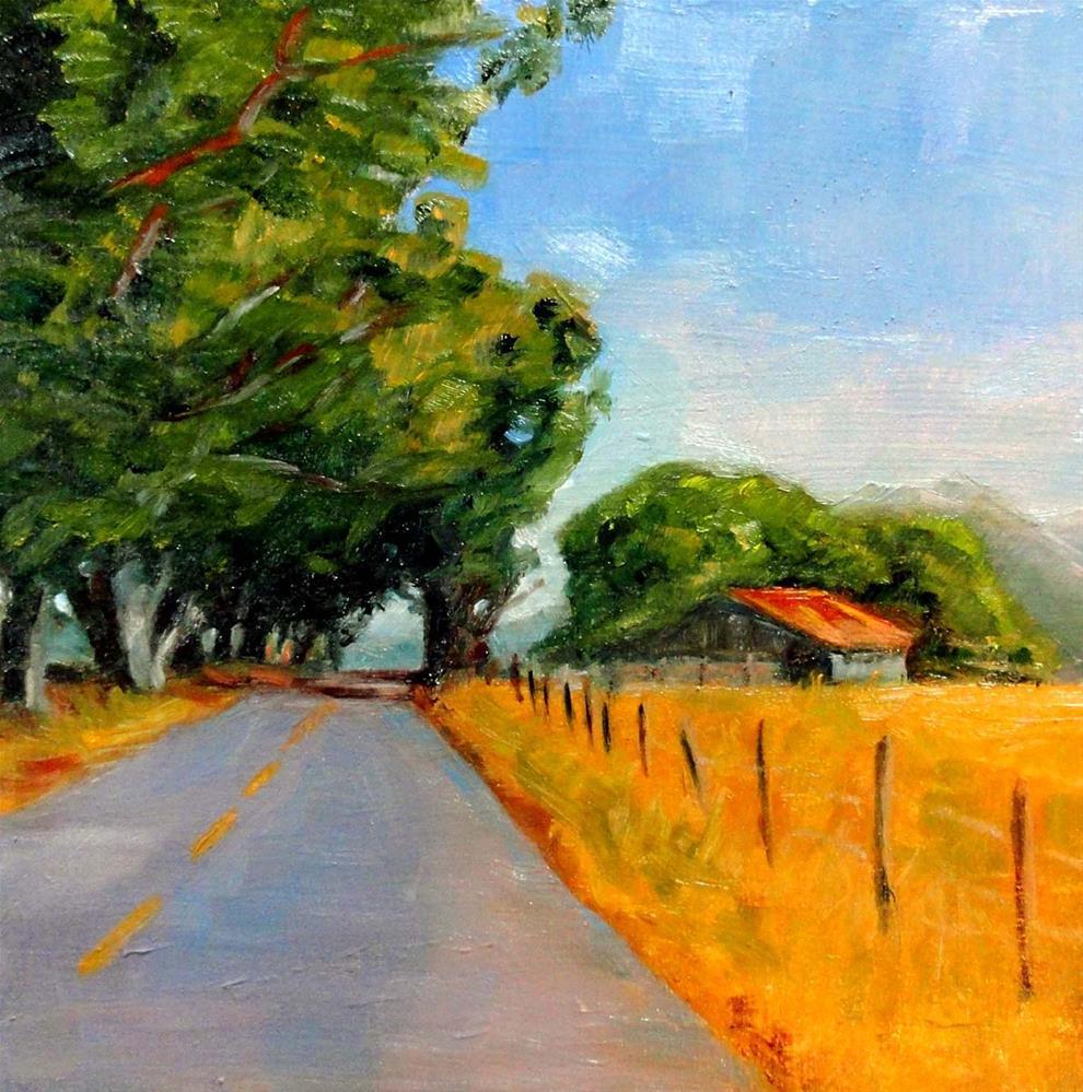 """Returning Home"" original fine art by Cietha Wilson"