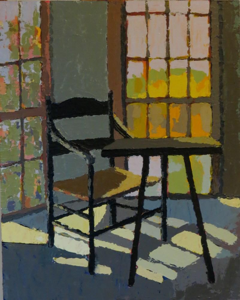 """""""Belmont Gazebo"""" original fine art by Joan Wiberg"""