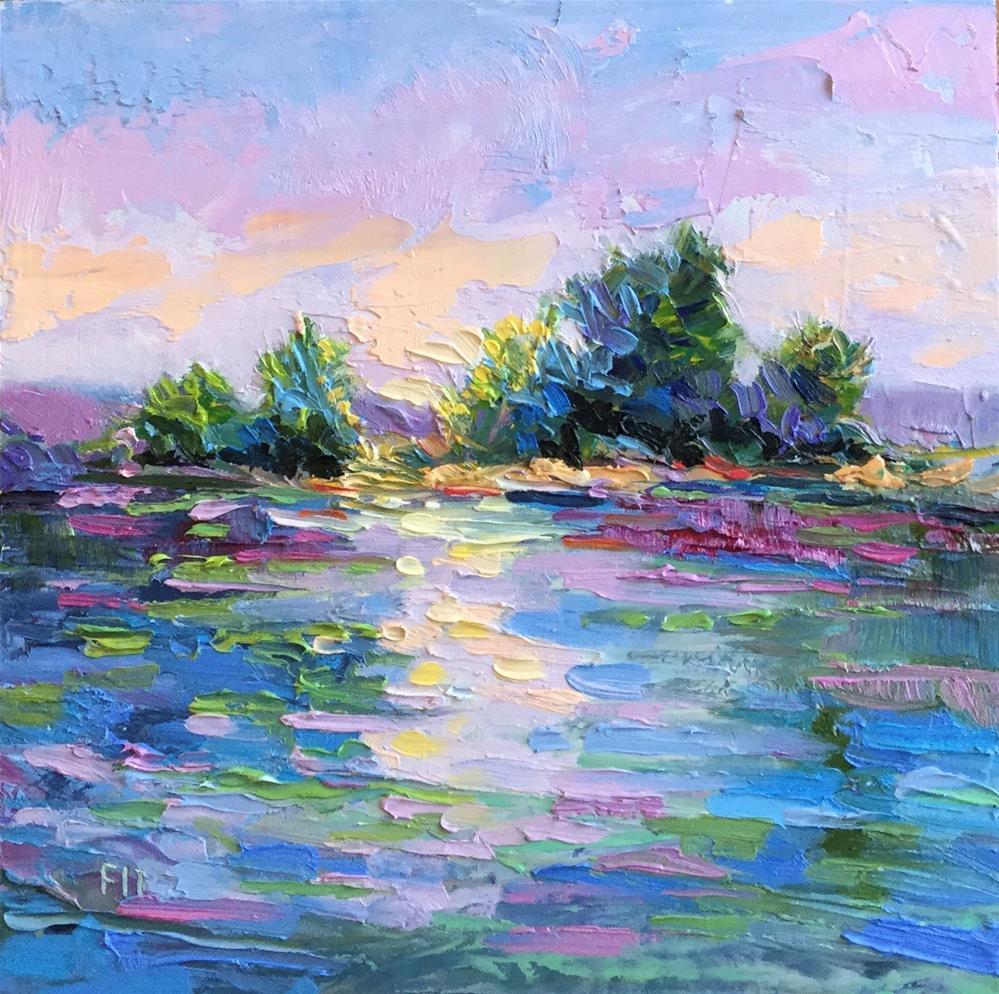 """Reflections"" original fine art by Charlotte Fitzgerald"