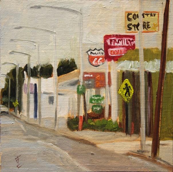 """The Way Home"" original fine art by Jane Frederick"