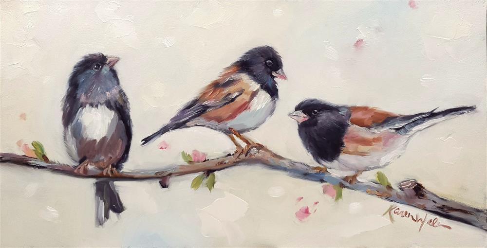 """Melodies Pure and True"" original fine art by Karen Weber"