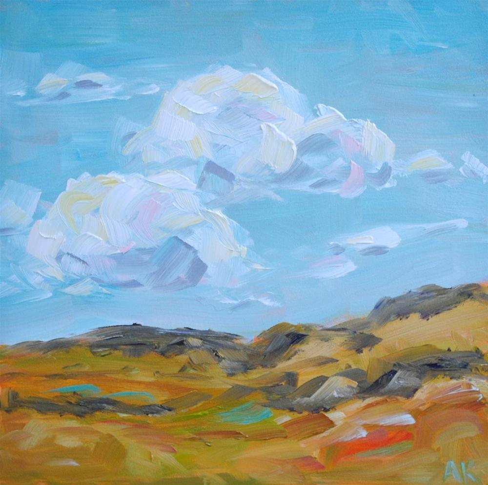 """Cloudy Day"" original fine art by Alison Kolkebeck"