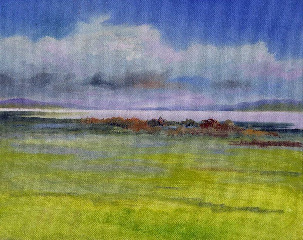 """empty lake"" original fine art by Mark DeBak"