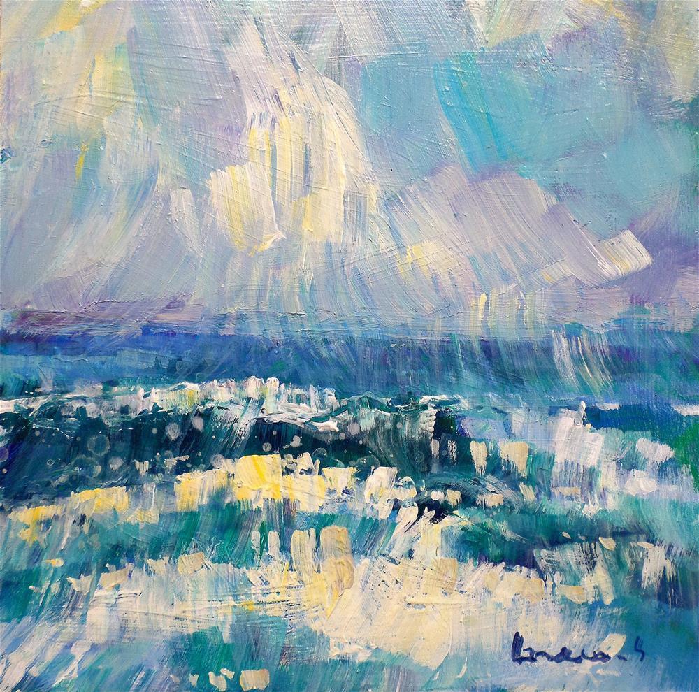 """the wave"" original fine art by salvatore greco"