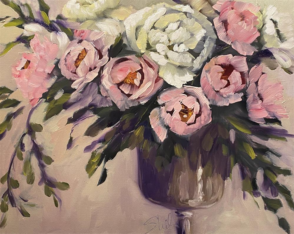 """Blushing Bride"" original fine art by Sheila Huyett"
