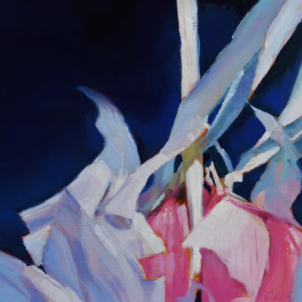 """Garlics"" original fine art by Víctor Tristante"
