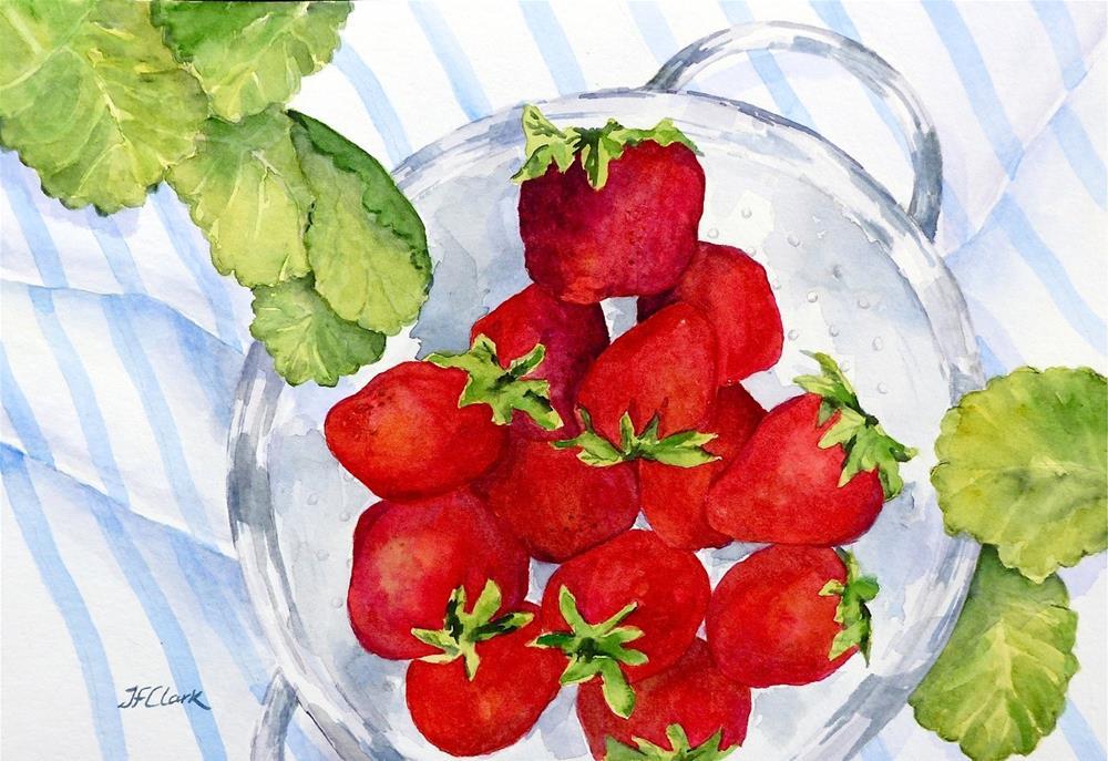 """Fresh-Picked"" original fine art by Judith Freeman Clark"