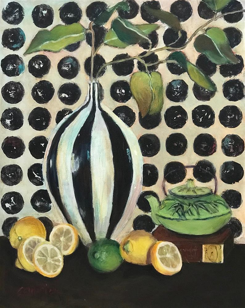 """968 When Life Gives You Lemons"" original fine art by Diane Campion"