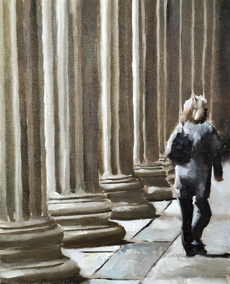 """Columns"" original fine art by James Coates"