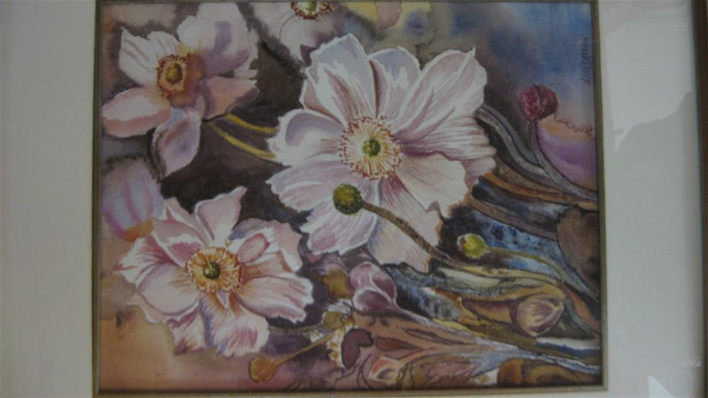 """White Dogwood"" original fine art by Lisa Darrow"