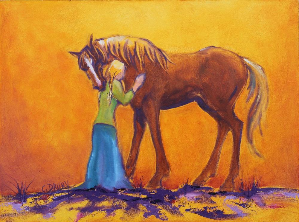 """Hugs"" original fine art by Colleen Drury"