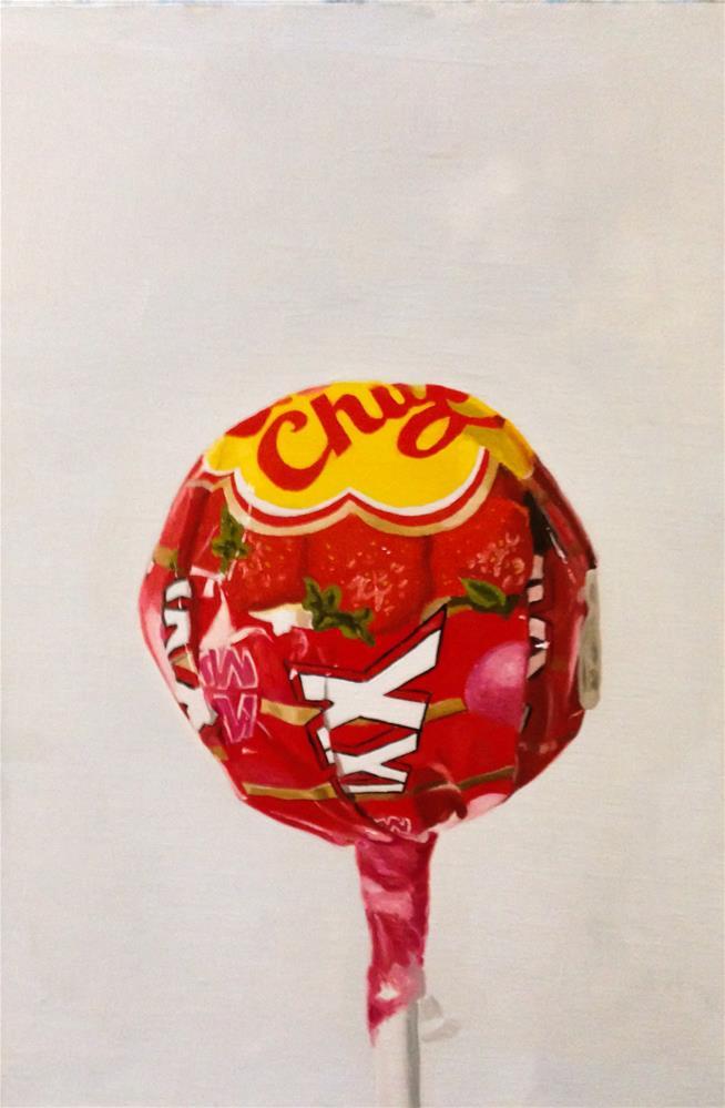 """Chupa Chup 1"" original fine art by James Coates"