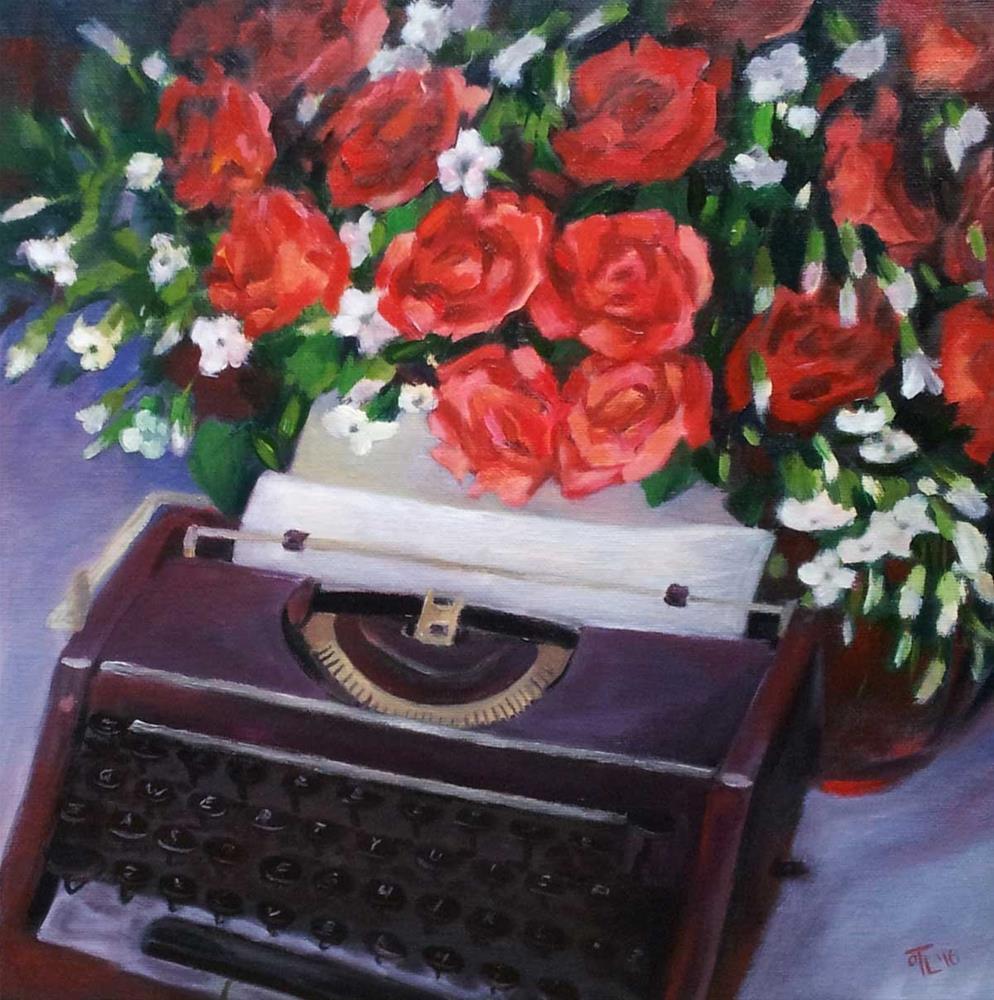 """DCS # 20 -Tomorrow a new chapter"" original fine art by Olga Touboltseva-Lefort"