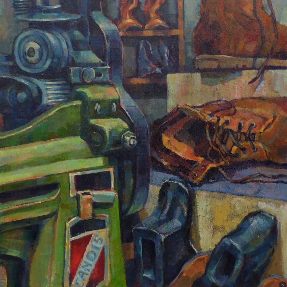 """Sole Solution"" original fine art by Katya Minkina"