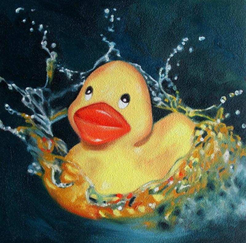 """Sploosh!"" original fine art by Lauren Pretorius"