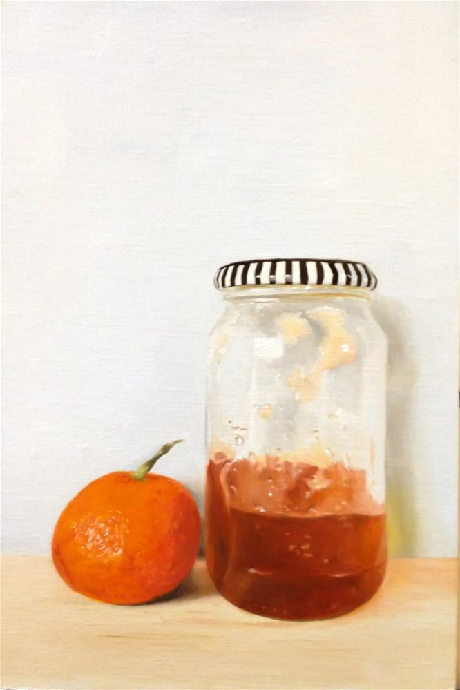 """Orange Marmalade"" original fine art by James Coates"