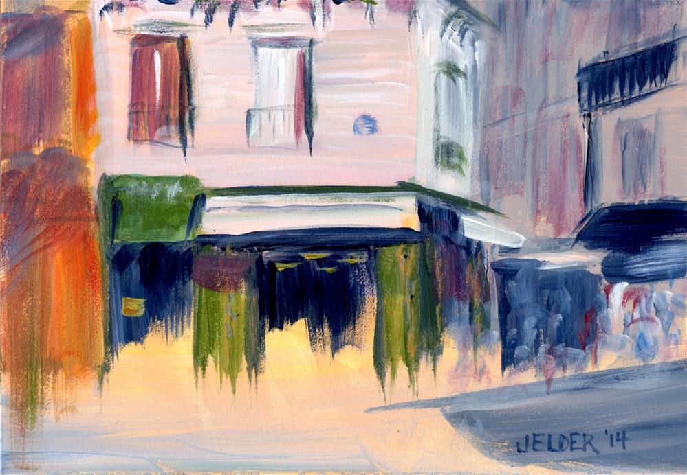 """Paris No. 41, Visions of St. Regis"" original fine art by Judith Elder"