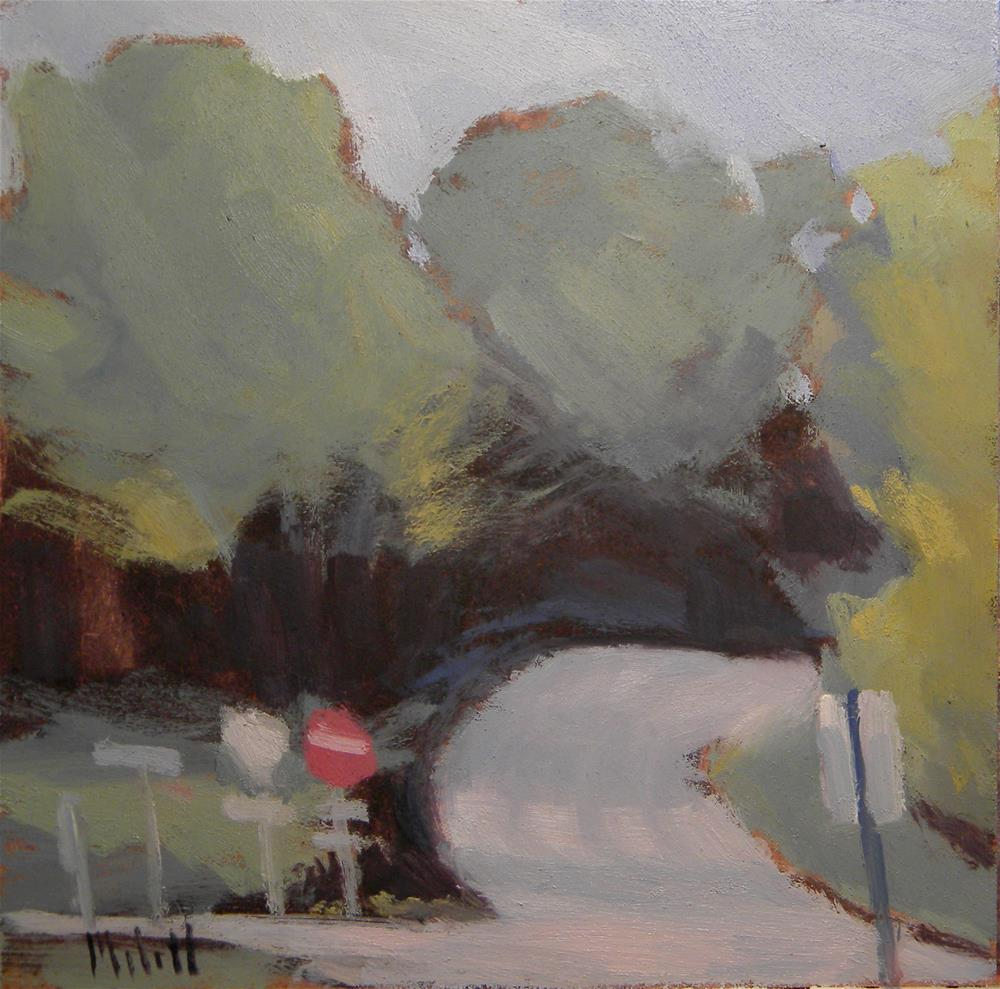 """Choose Your Path Contemporary Impressions Oil Painting"" original fine art by Heidi Malott"