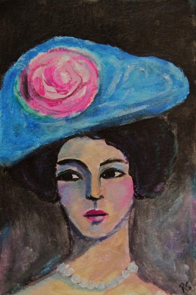 """Grace"" original fine art by Roberta Schmidt"