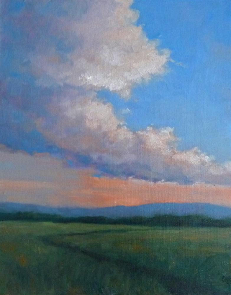 """Billowing"" original fine art by Lisa Kyle"