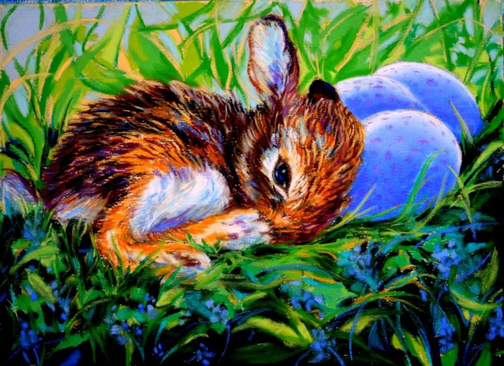 """""""A Rare Find"""" original fine art by Jill Bates"""