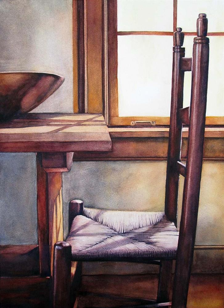 """Late Afternoon"" original fine art by Kara K. Bigda"