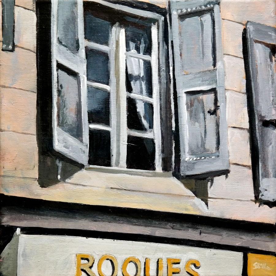 """""""1638 Roques"""" original fine art by Dietmar Stiller"""