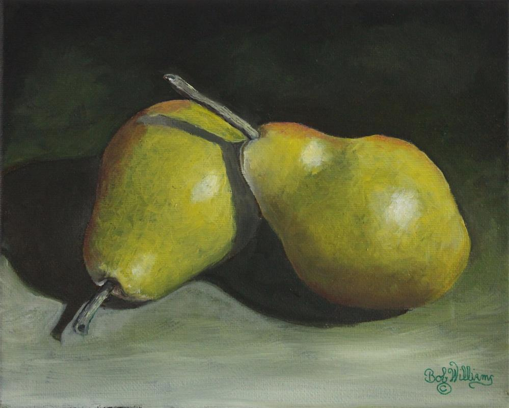 """A Nice Pair"" original fine art by Bob Williams"