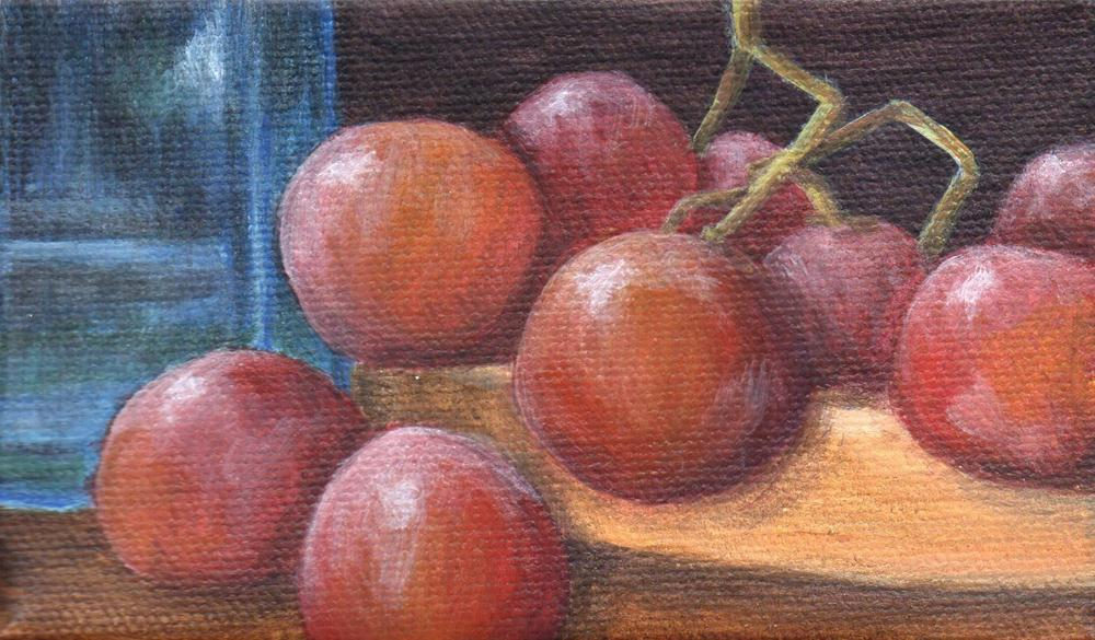 """""""Well Rounded"""" original fine art by Debbie Shirley"""