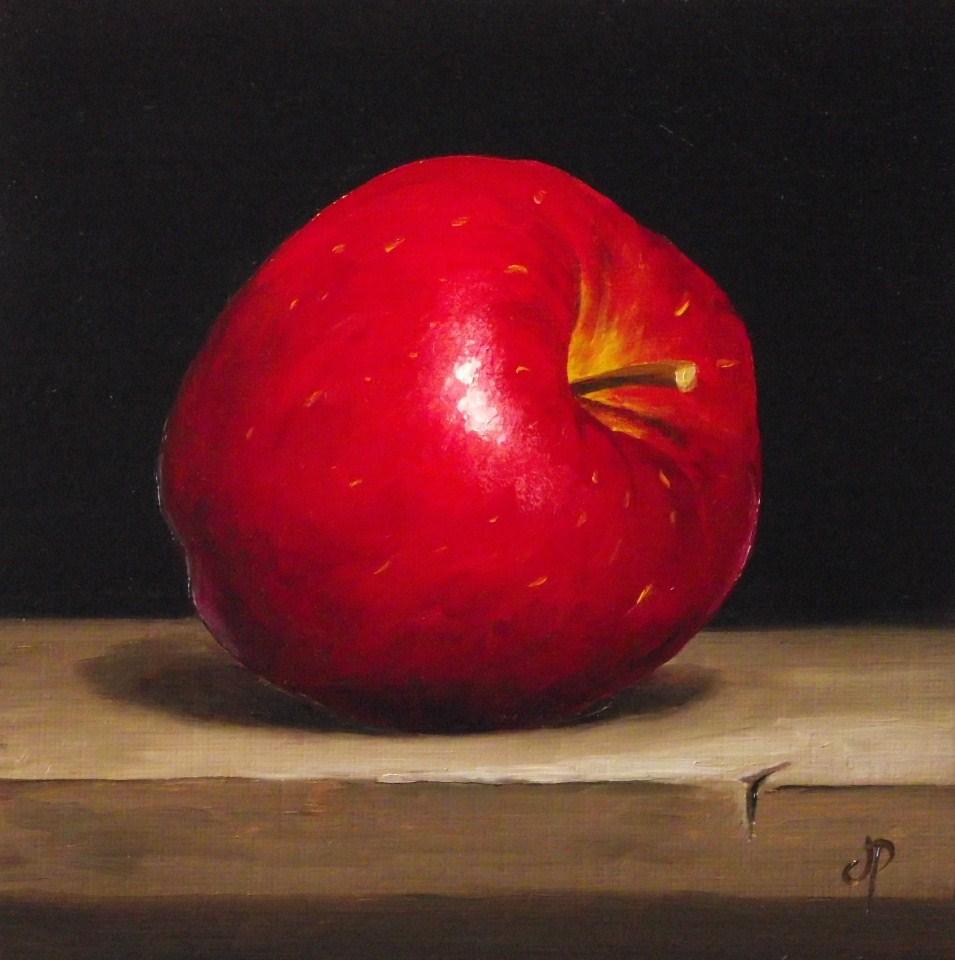 """Red Delicious"" original fine art by Jane Palmer"