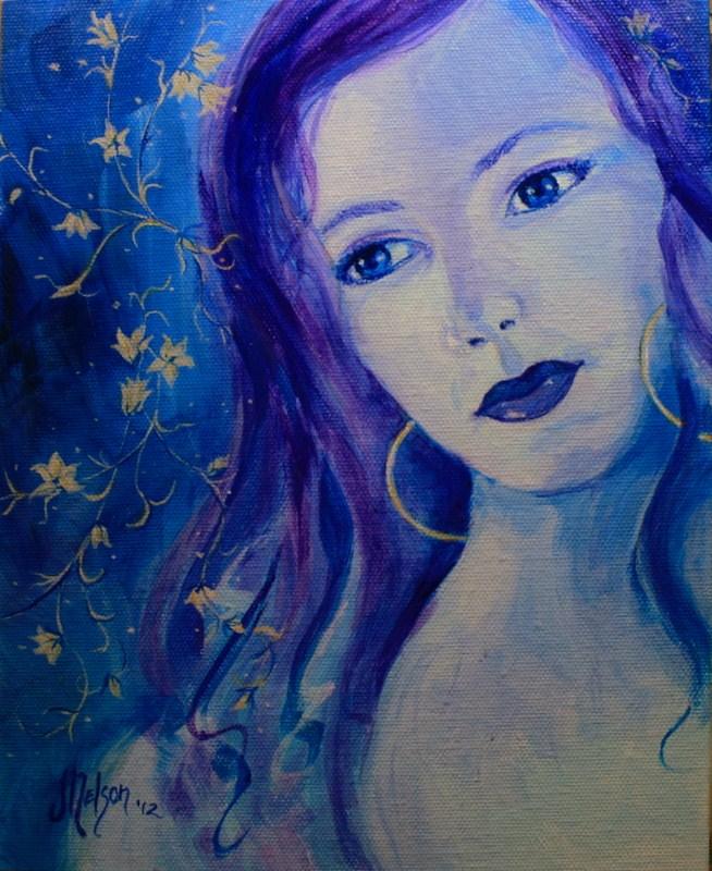 """""""Star Dreams"""" original fine art by Jean Nelson"""