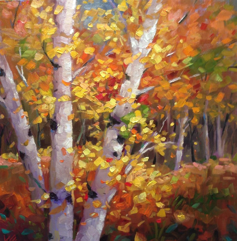 """Autumn's Joy"" original fine art by Krista Eaton"