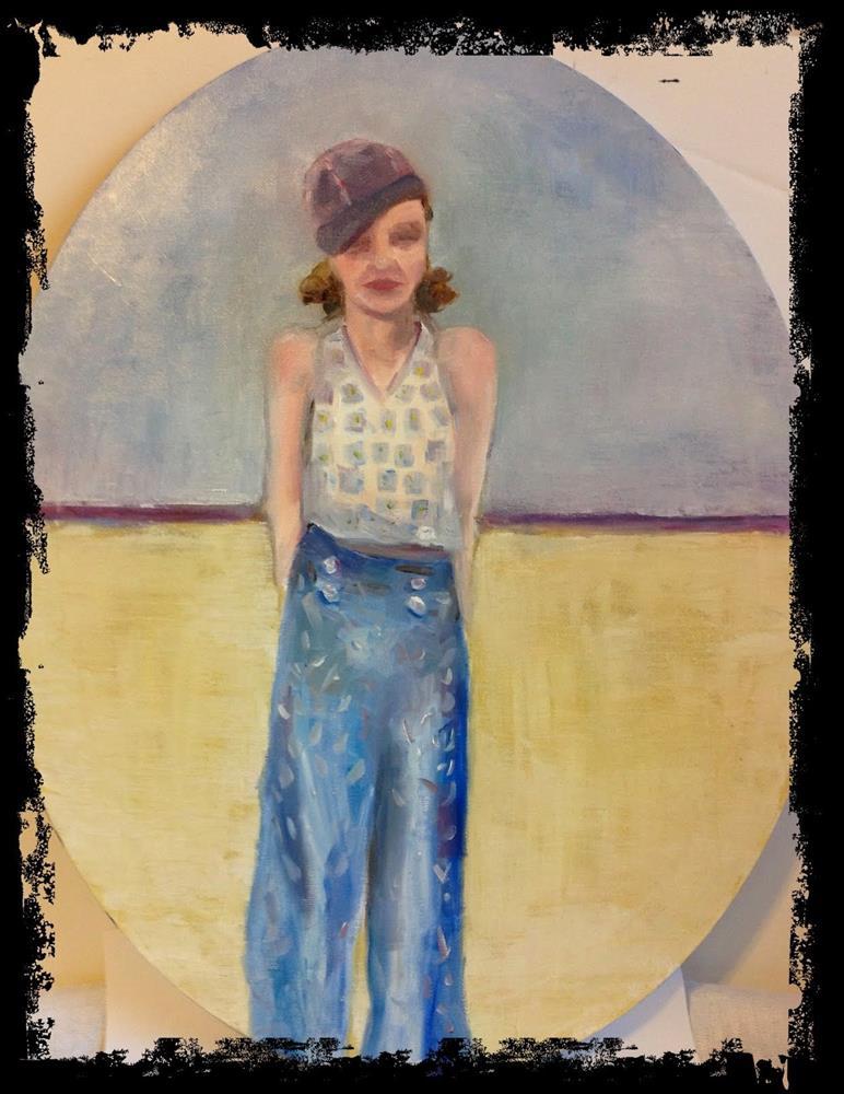 """Loretta Grace"" original fine art by Maggie Flatley"