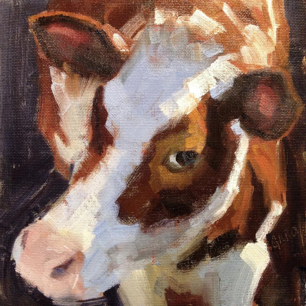 """Stink Eye"" original fine art by denise gilroy"