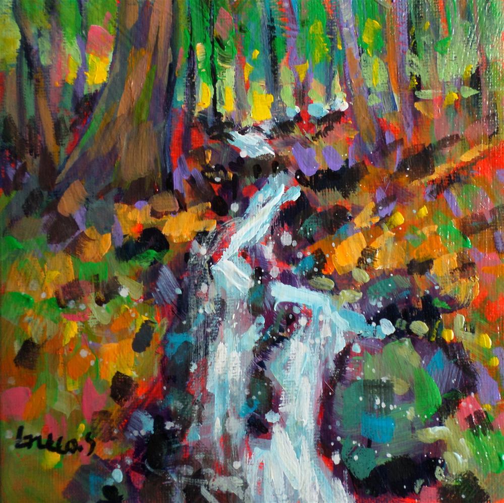 """""""WATERCOURSE"""" original fine art by salvatore greco"""