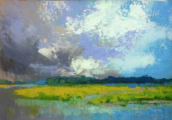 """""""Coming Storm"""" original fine art by Mary Gilkerson"""