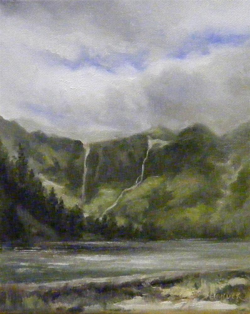 """""""National Park Challenge, Landscape"""" original fine art by Diana Delander"""