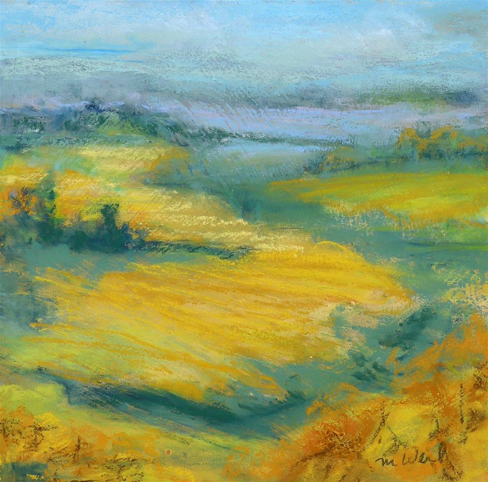 """""""October View"""" original fine art by Mary Weil"""