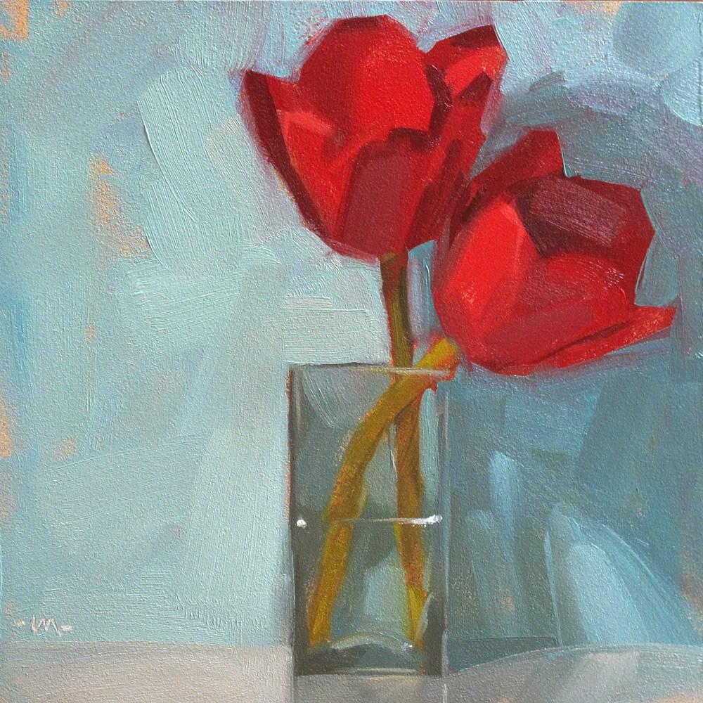 """Put Two Lips Together"" original fine art by Carol Marine"